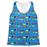 Racing Car Womens Racerback Tank Top (Personalized)