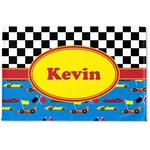 Racing Car Woven Mat (Personalized)