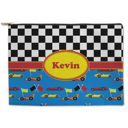 Racing Car Zipper Pouch (Personalized)