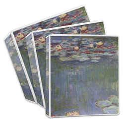 Water Lilies by Claude Monet 3-Ring Binder