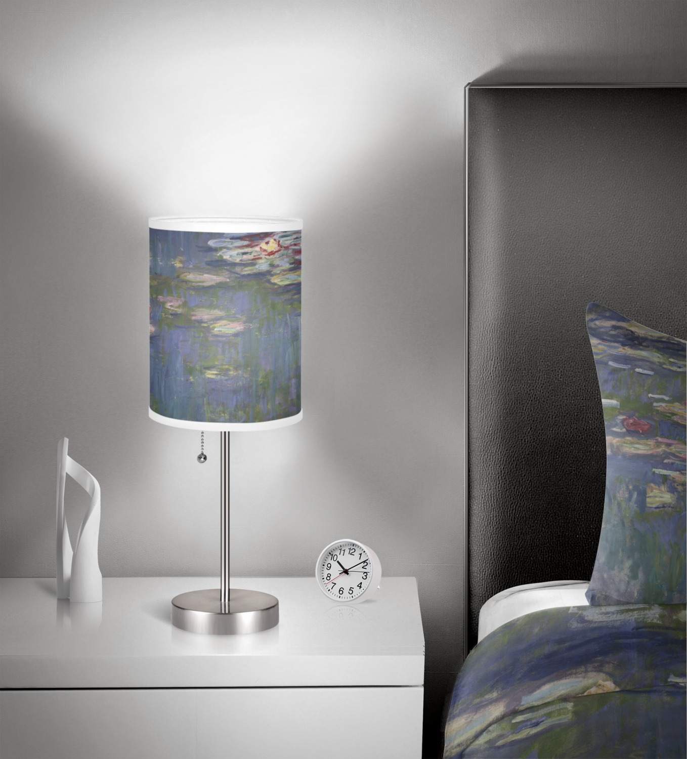Water Lilies By Claude Monet 7 Quot Drum Lamp Shade