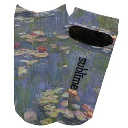 Water Lilies by Claude Monet Adult Ankle Socks
