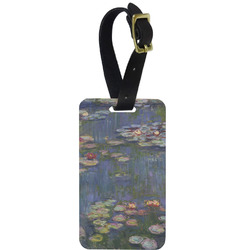 Water Lilies by Claude Monet Aluminum Luggage Tag