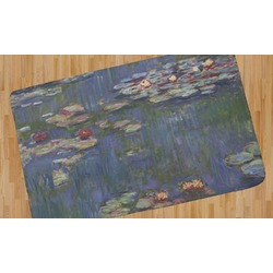 Water Lilies by Claude Monet Area Rug