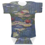 Water Lilies by Claude Monet Baby Bodysuit