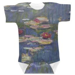 Water Lilies by Claude Monet Baby Bodysuit