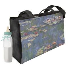 Water Lilies by Claude Monet Diaper Bag