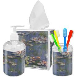 Water Lilies by Claude Monet Bathroom Accessories Set