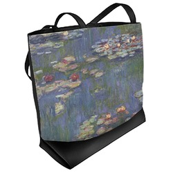 Water Lilies by Claude Monet Beach Tote Bag