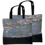 Water Lilies by Claude Monet Beach Tote Bag
