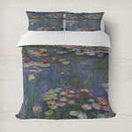 Water Lilies by Claude Monet Duvet Cover