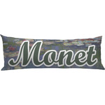 Water Lilies by Claude Monet Body Pillow Case