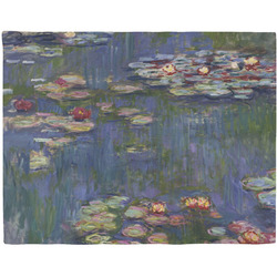 Water Lilies by Claude Monet Woven Fabric Placemat - Twill