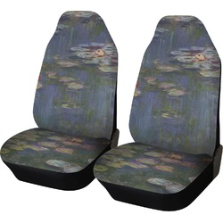 Water Lilies by Claude Monet Car Seat Covers (Set of Two)