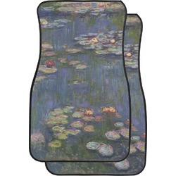 Water Lilies by Claude Monet Car Floor Mats (Front Seat)