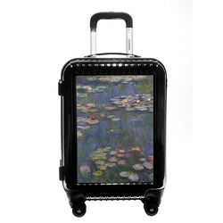 Water Lilies by Claude Monet Carry On Hard Shell Suitcase