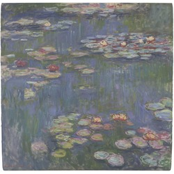 Water Lilies by Claude Monet Ceramic Tile Hot Pad