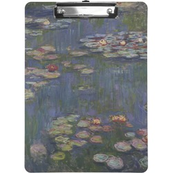 Water Lilies by Claude Monet Clipboard