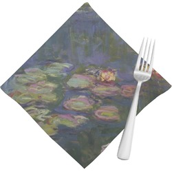 Water Lilies by Claude Monet Cloth Napkins (Set of 4)