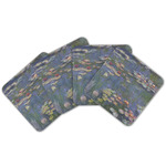 Water Lilies by Claude Monet Cork Coaster - Set of 4