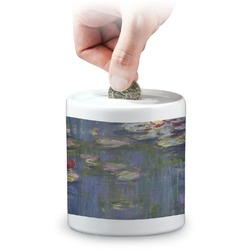Water Lilies by Claude Monet Coin Bank