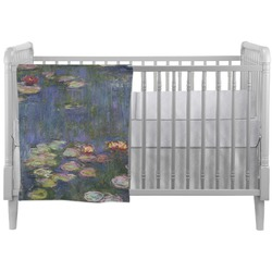 Water Lilies by Claude Monet Crib Comforter / Quilt