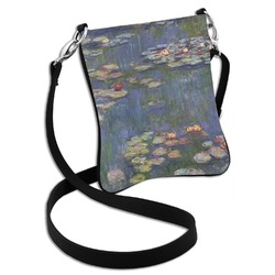 Water Lilies by Claude Monet Cross Body Bag - 2 Sizes