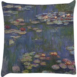 Water Lilies by Claude Monet Decorative Pillow Case