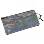 Water Lilies by Claude Monet Genuine Leather Eyeglass Case