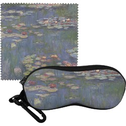 Water Lilies by Claude Monet Eyeglass Case & Cloth