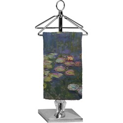 Water Lilies by Claude Monet Finger Tip Towel - Full Print