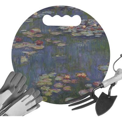 Water Lilies by Claude Monet Gardening Knee Cushion
