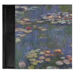 Water Lilies by Claude Monet Genuine Leather Baby Memory Book