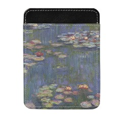 Water Lilies by Claude Monet Genuine Leather Money Clip