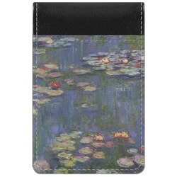 Water Lilies by Claude Monet Genuine Leather Small Memo Pad