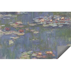 Water Lilies by Claude Monet Indoor / Outdoor Rug - 6'x9'