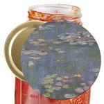 Water Lilies by Claude Monet Jar Opener