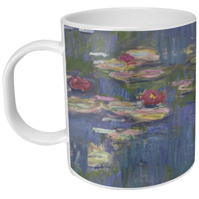 Water Lilies By Claude Monet Plastic Kids Mug Youcustomizeit
