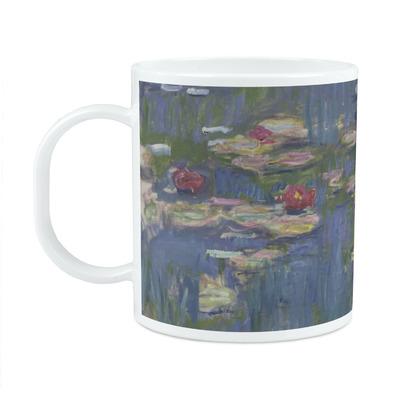 Water Lilies by Claude Monet Plastic Kids Mug