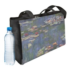 Water Lilies by Claude Monet Ladies Workout Bag