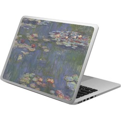 Water Lilies by Claude Monet Laptop Skin - Custom Sized