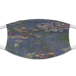 Water Lilies by Claude Monet Cloth Face Mask (T-Shirt Fabric)
