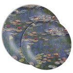 Water Lilies by Claude Monet Melamine Plate