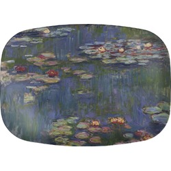 Water Lilies by Claude Monet Melamine Platter