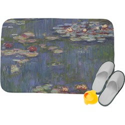 Water Lilies by Claude Monet Memory Foam Bath Mat