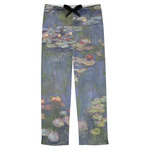 Water Lilies by Claude Monet Mens Pajama Pants