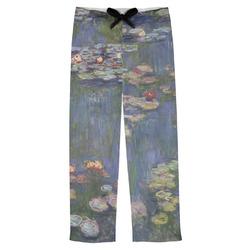 Water Lilies by Claude Monet Mens Pajama Pants