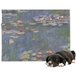 Water Lilies by Claude Monet Dog Blanket