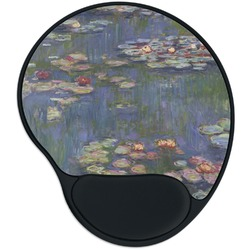 Water Lilies by Claude Monet Mouse Pad with Wrist Support