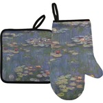 Water Lilies by Claude Monet Oven Mitt & Pot Holder